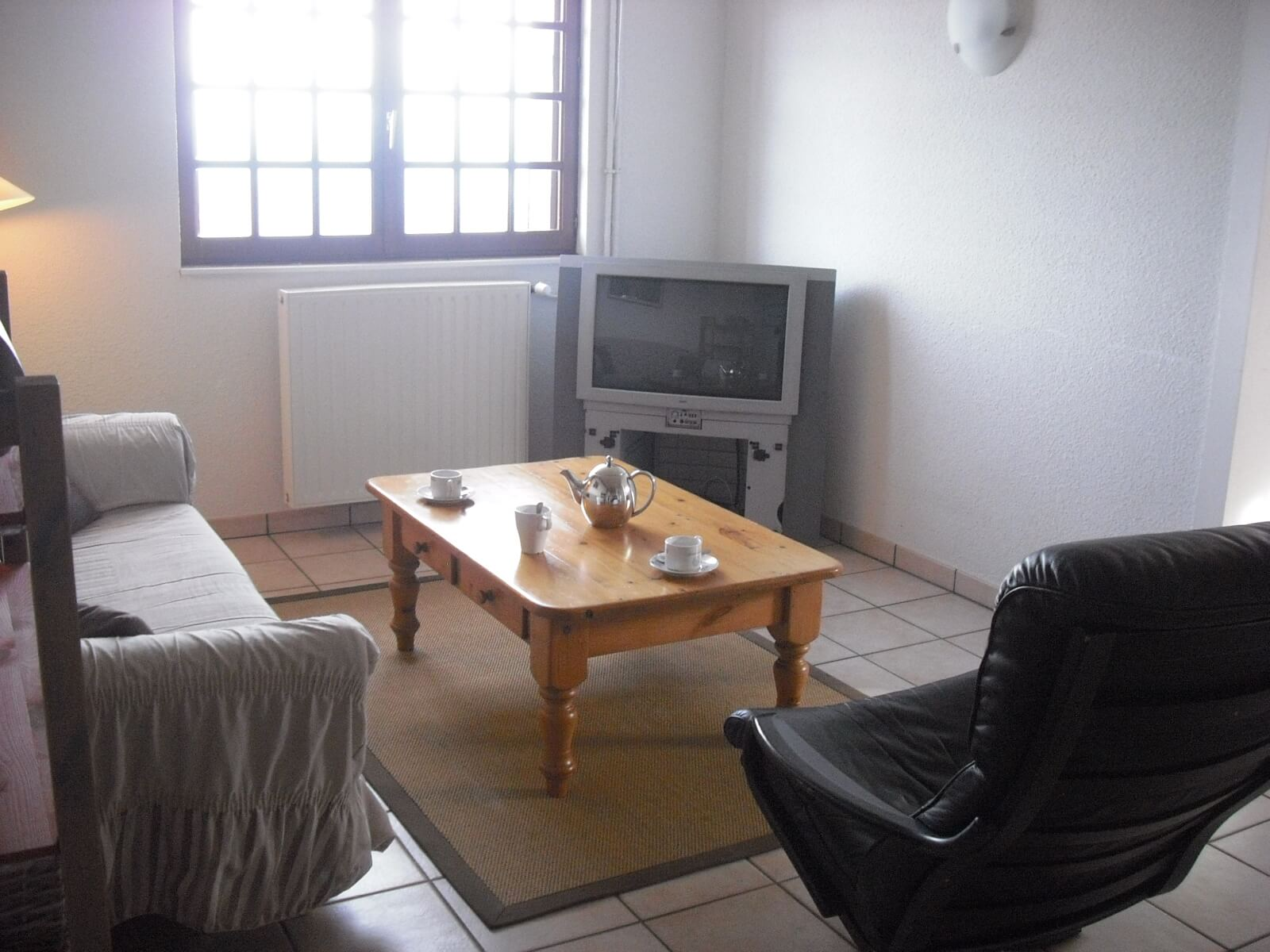Woonkamer in appartement Sancy
