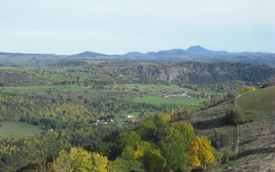 Volcanoes of the Auvergne, France